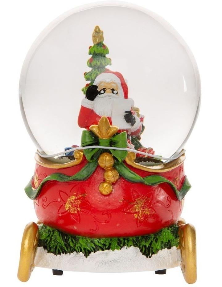 Heirloom Santa on Sleigh with Presents image 1