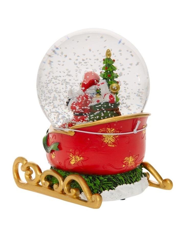 Heirloom Santa on Sleigh with Presents image 3