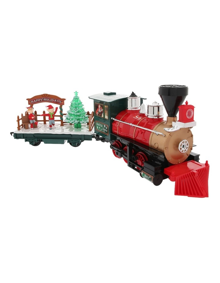 Christmas Train Set.Vue Remote Control North Pole Express Christmas Train Set