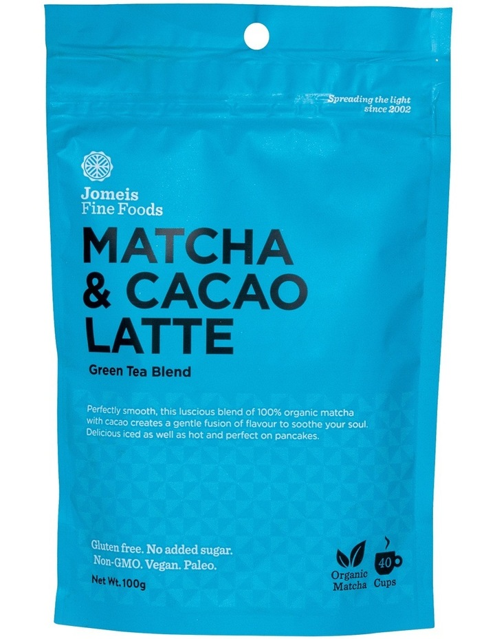 Matcha & Cacao Latte Green Tea Blend 100g image 1