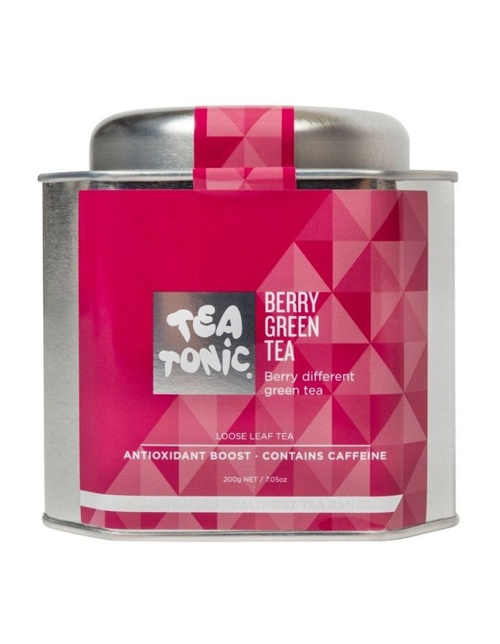 Berry Green Loose Leaf Tea Tin image 1