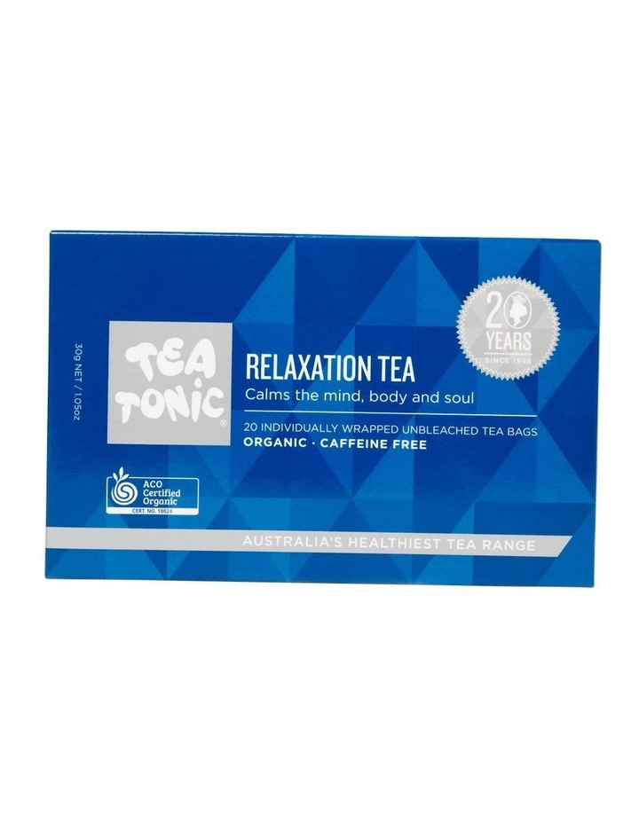 Relaxation Tea Box - 20 Teabags image 1