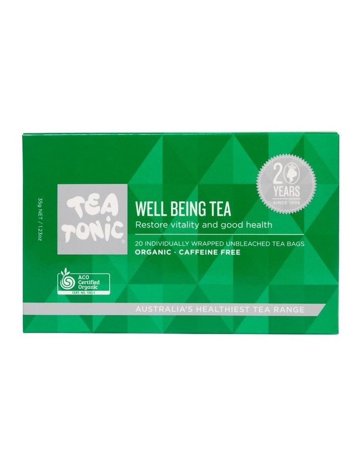 Wellbeing Tea Box - 20 Teabags image 1