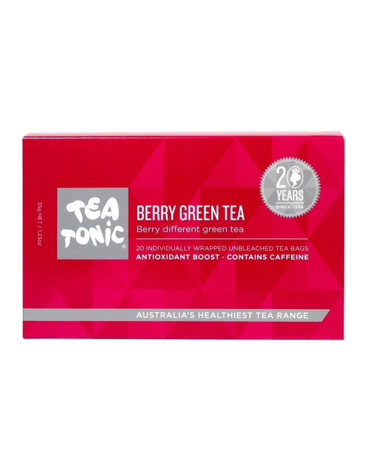 Berry Green Tea Box -  20 Teabags image 1