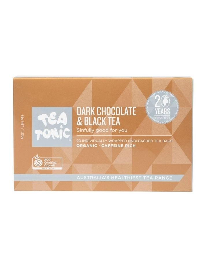 Dark Chocolate And Black Tea Box- 20 Teabags image 1