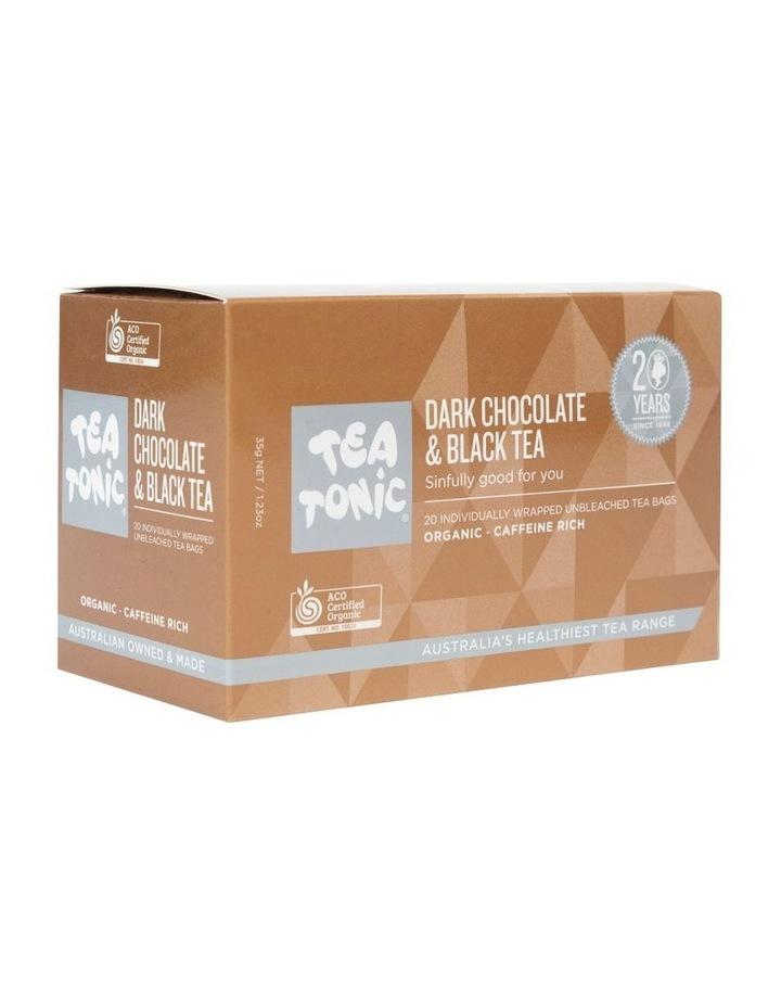 Dark Chocolate And Black Tea Box- 20 Teabags image 2