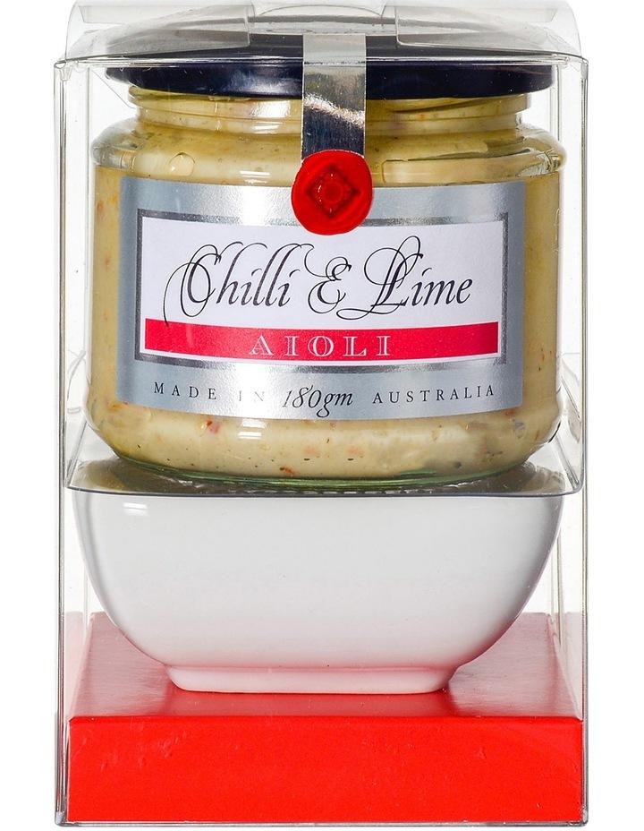 Chilli & Lime Aioli Bowl Set 180g image 1
