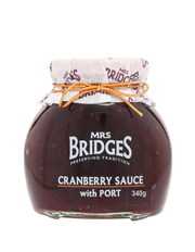 Cranberry Sauce with Port 340g