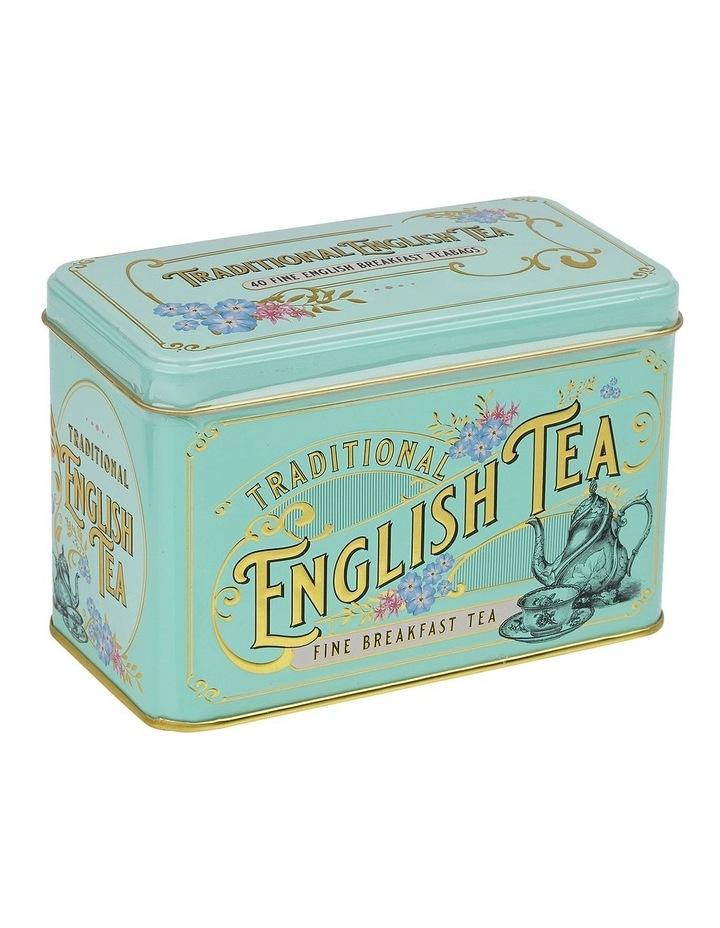 New English Teas Green Vintage Tin 80G image 1