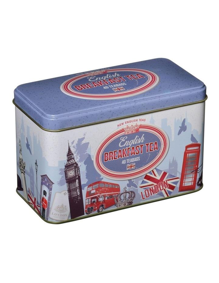 New English Teas Retro London Caddy Tin 80G image 1