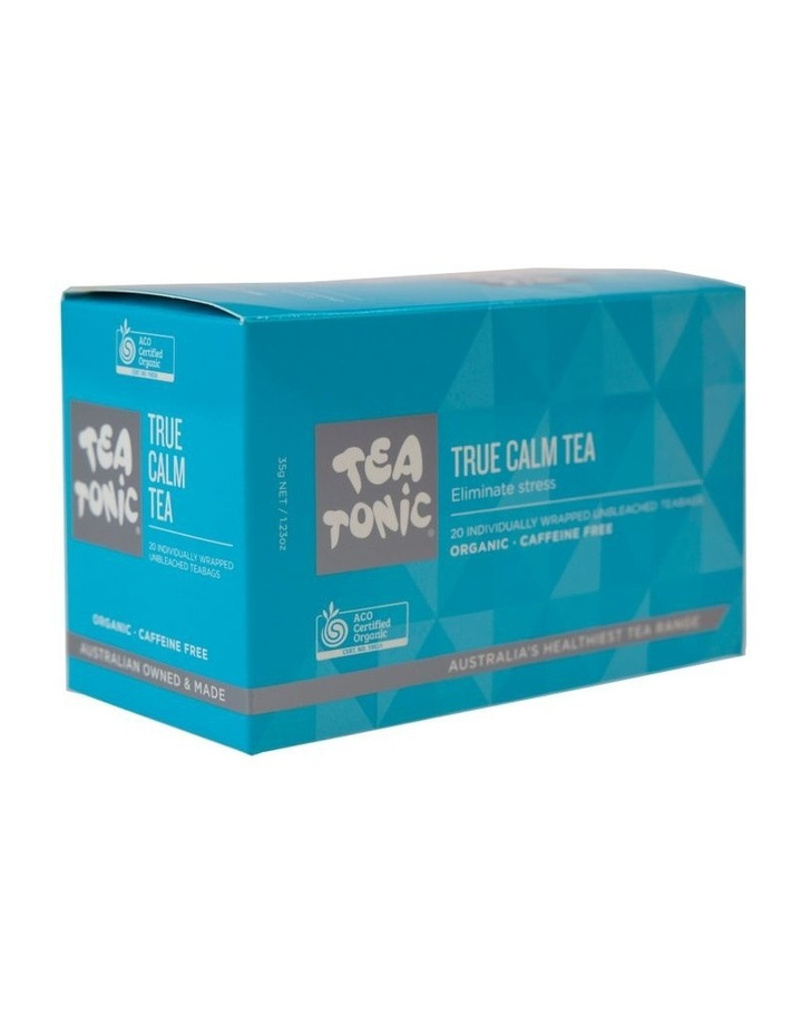 Tea Tonic True Calm Tea - Box of 20 Teabags image 1