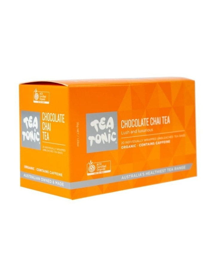 Tea Tonic Chocolate Chai Tea - Box of 20 Teabags image 1