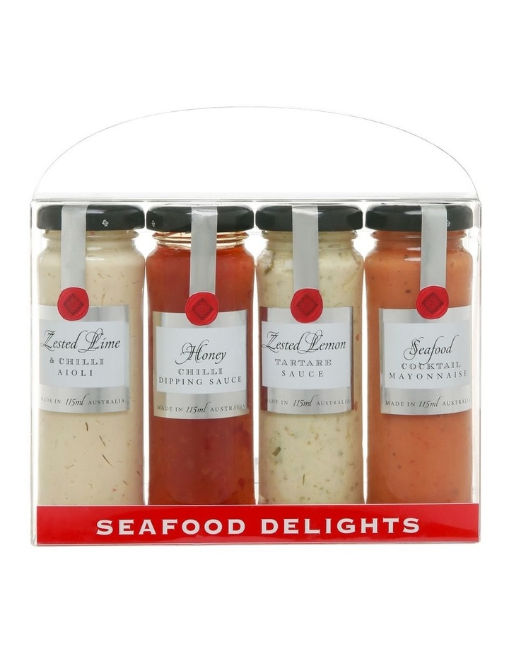 Seafood Delights Quad Pack 4x115ml image 1