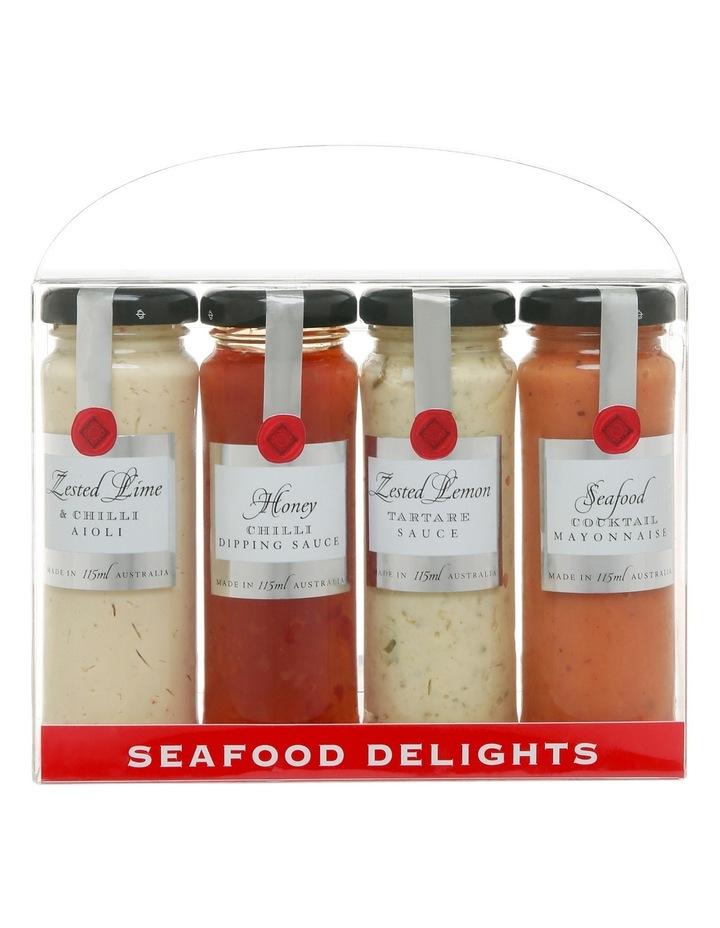 Seafood Delights Quad Pack 4x115ml image 2
