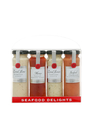 Seafood Delights Quad Pack 4x115ml