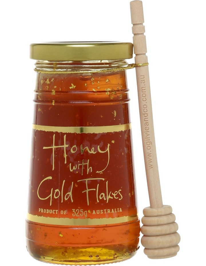 Honey with Gold Flakes 325g image 1