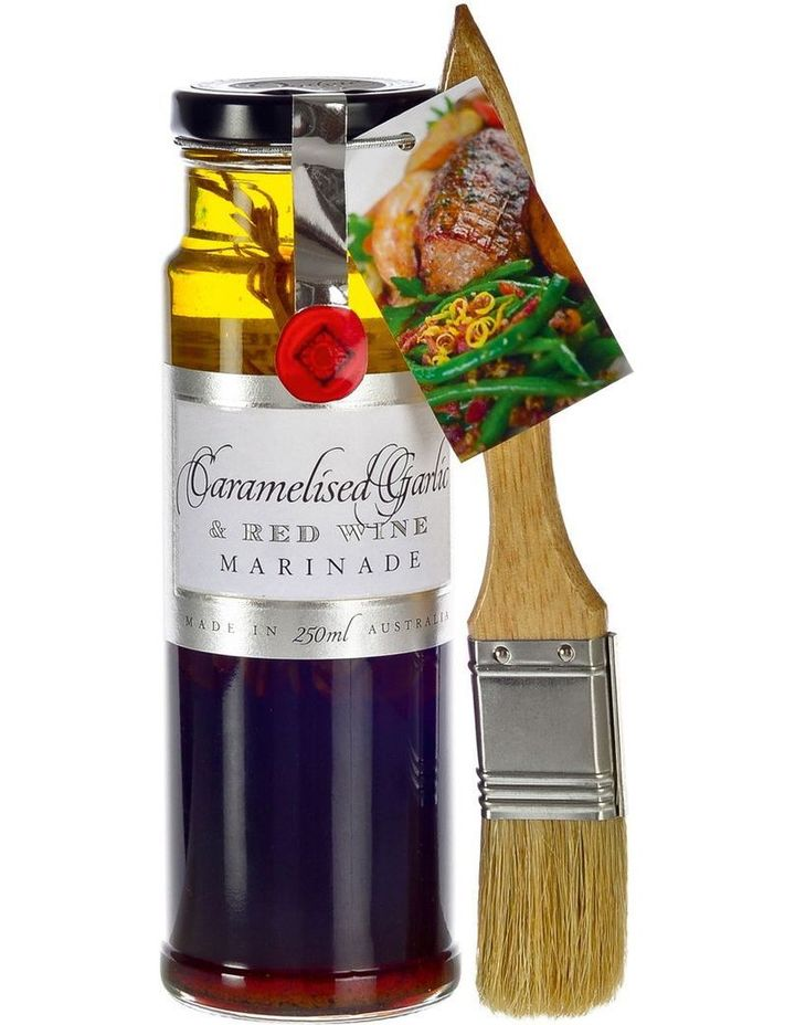 Carmlised Garlic & Red Wine Marinade 250ml image 1