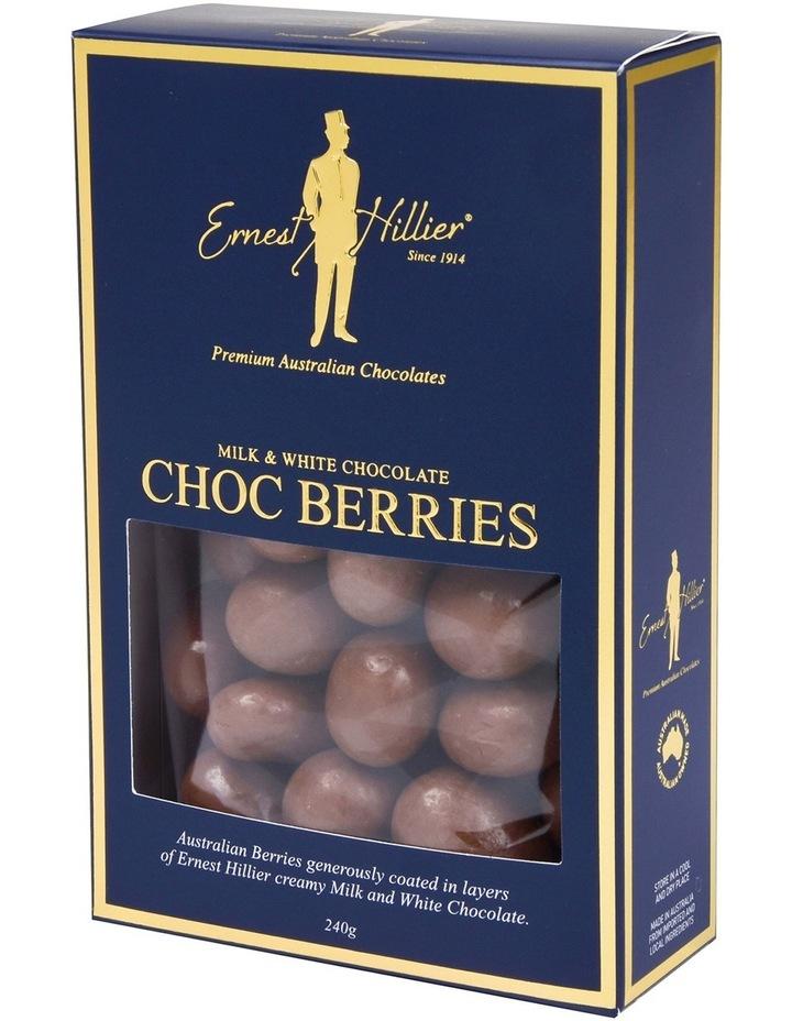 Milk & White Choc Berries 240G image 1