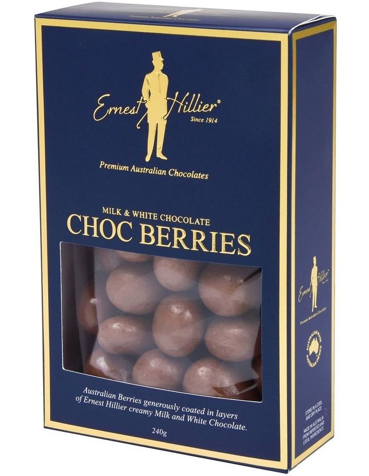 Milk & White Choc Berries 240G image 2