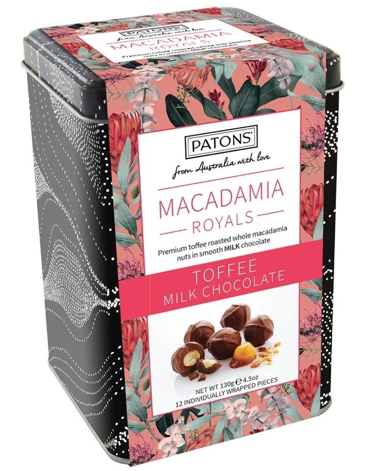 Milk Chocolate Macadamia Royals Gift Tin 130g image 1