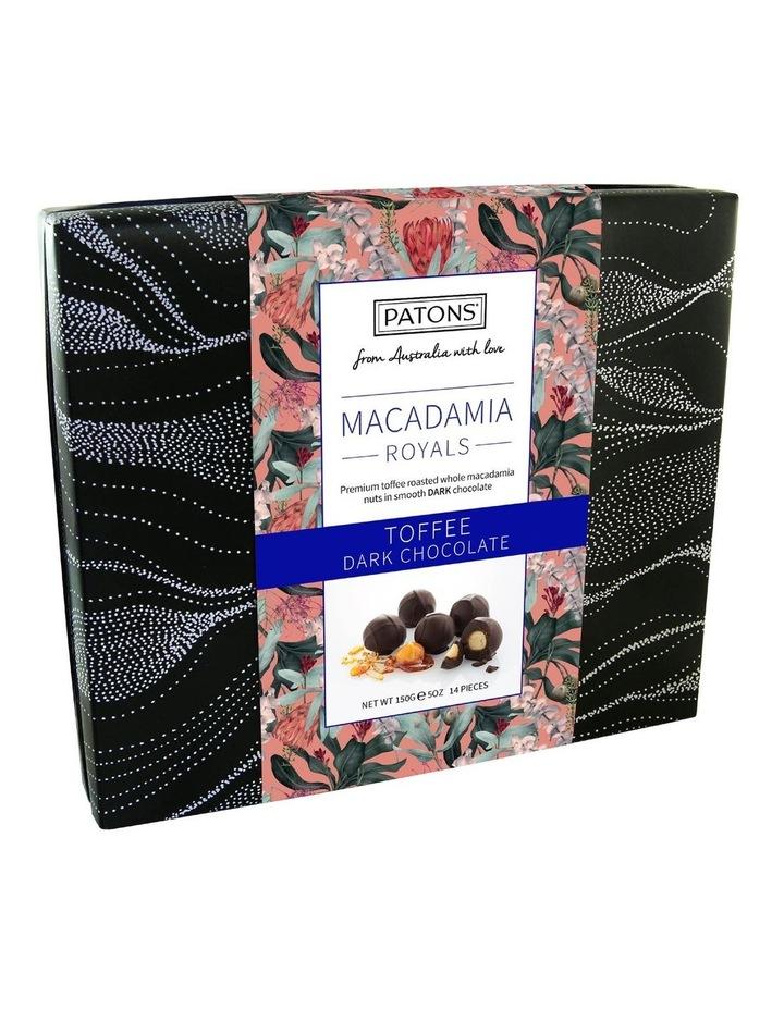 Dark Chocolate Macadamia Royals Gift Box 150g image 1