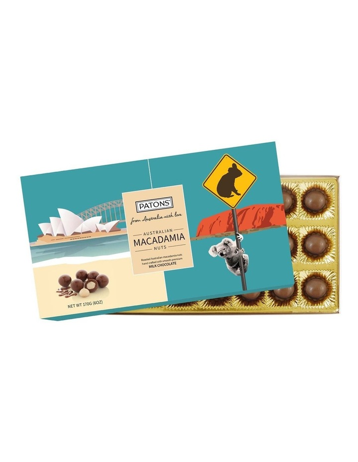 Milk Chocolate Coated Macadamias Australian Icons 170g image 1