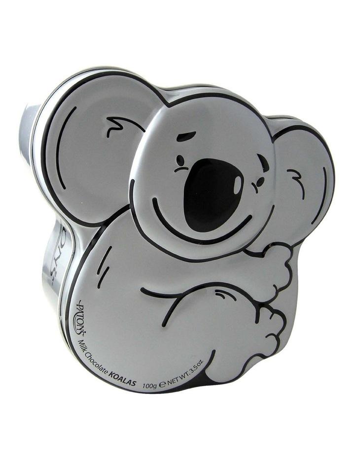 Milk Chocolate Koala Shapes Koala Gift Tin 100g image 1