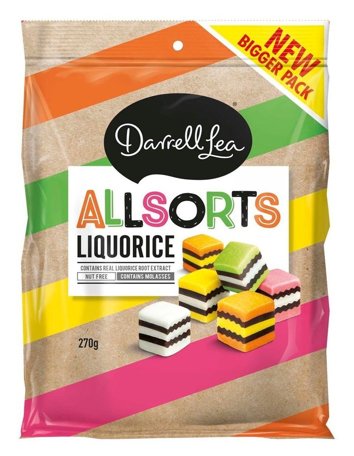 Liquorice Allsorts 270g image 1