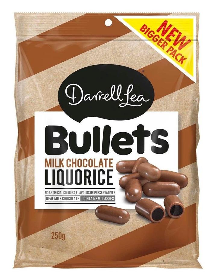 Bullets Liquorice Milk 250g image 1