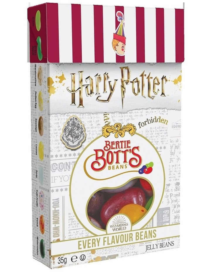 Harry Potter Bertie Bott's Every Flavour Beans Flip Top Box 35g image 1