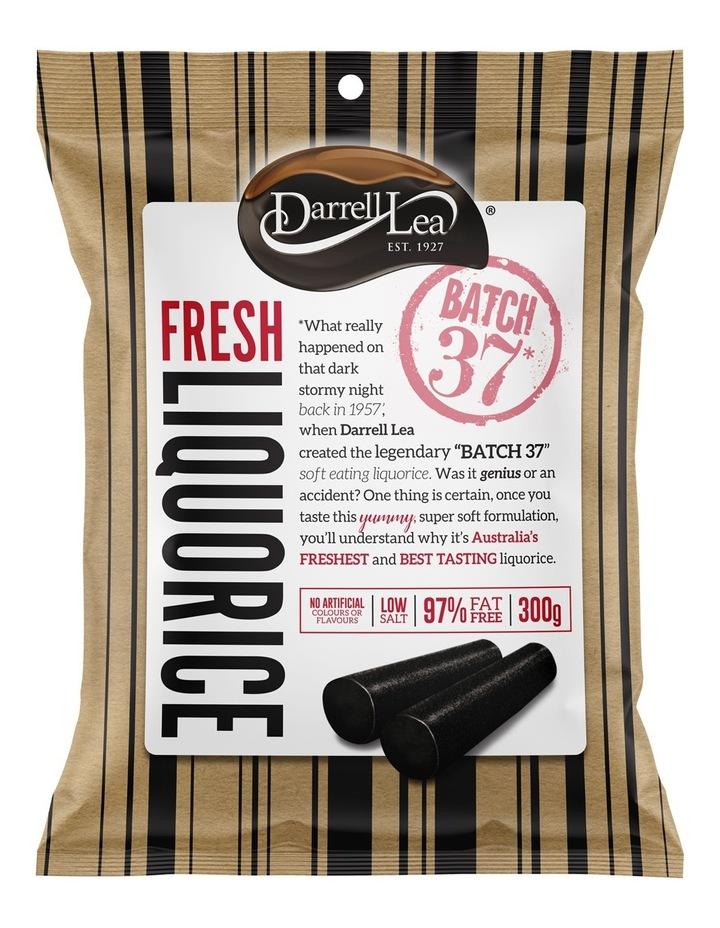 Batch 37 Original Black Soft Eating Liquorice 300g image 1