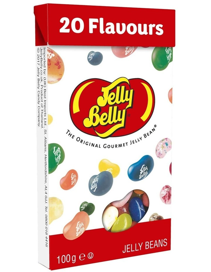 Jelly Belly 20 Assorted Flip Top Box 100g