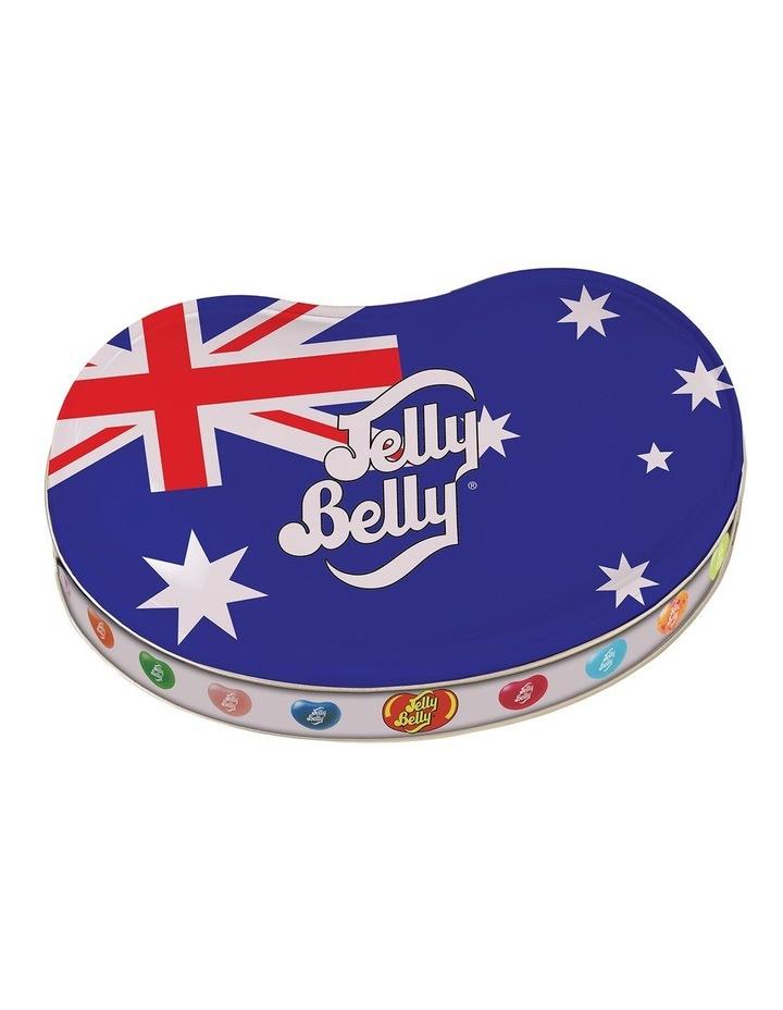 Jelly Belly 50 Assorted Australian Flag Bean Tin 200g image 1