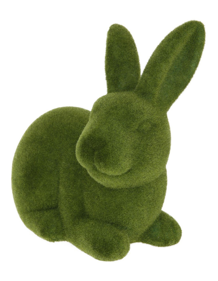 Green Moss Bunny Sitting image 2