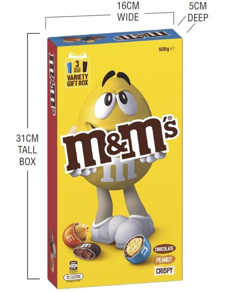 Giant Candy Box - M&M'S 505G image 5