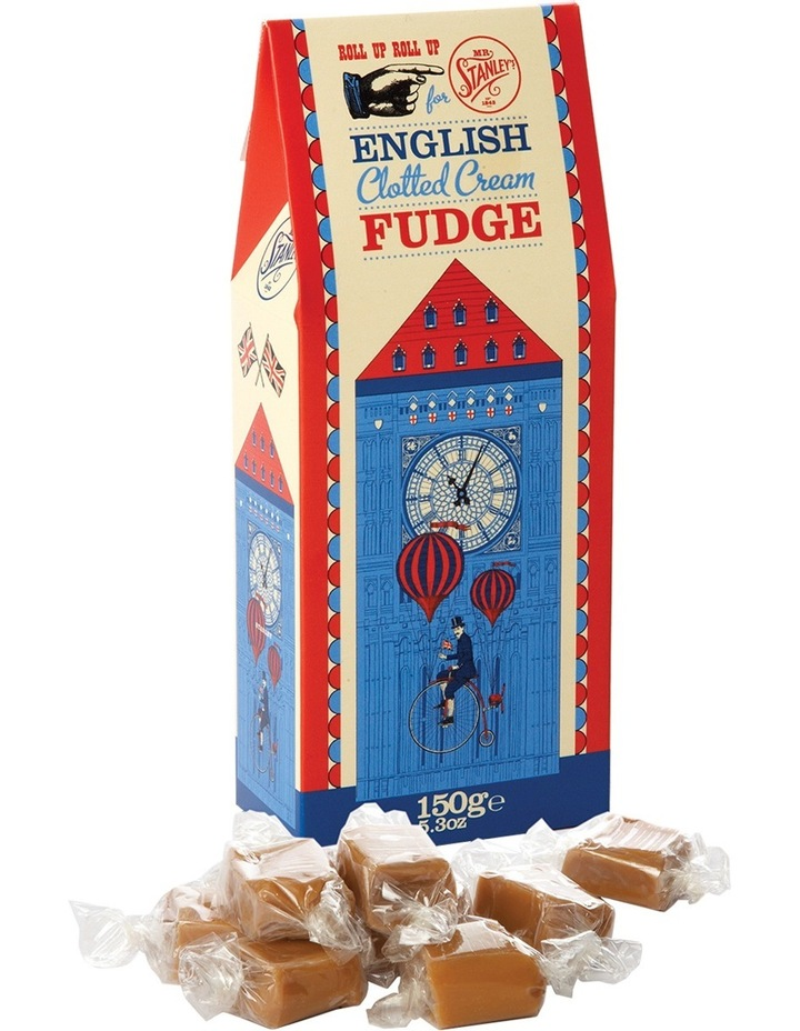 English Clotted Cream Fudge 150g image 1