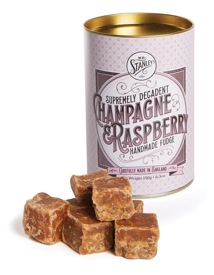Champagne & Raspberry Fudge 150g image 1
