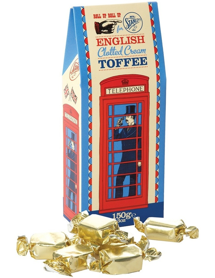 English Clotted Cream Toffee 150g image 1