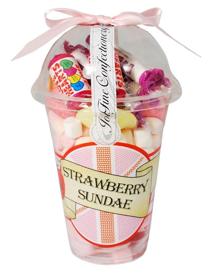 Strawberry Sundae Candy Cup 302g image 1
