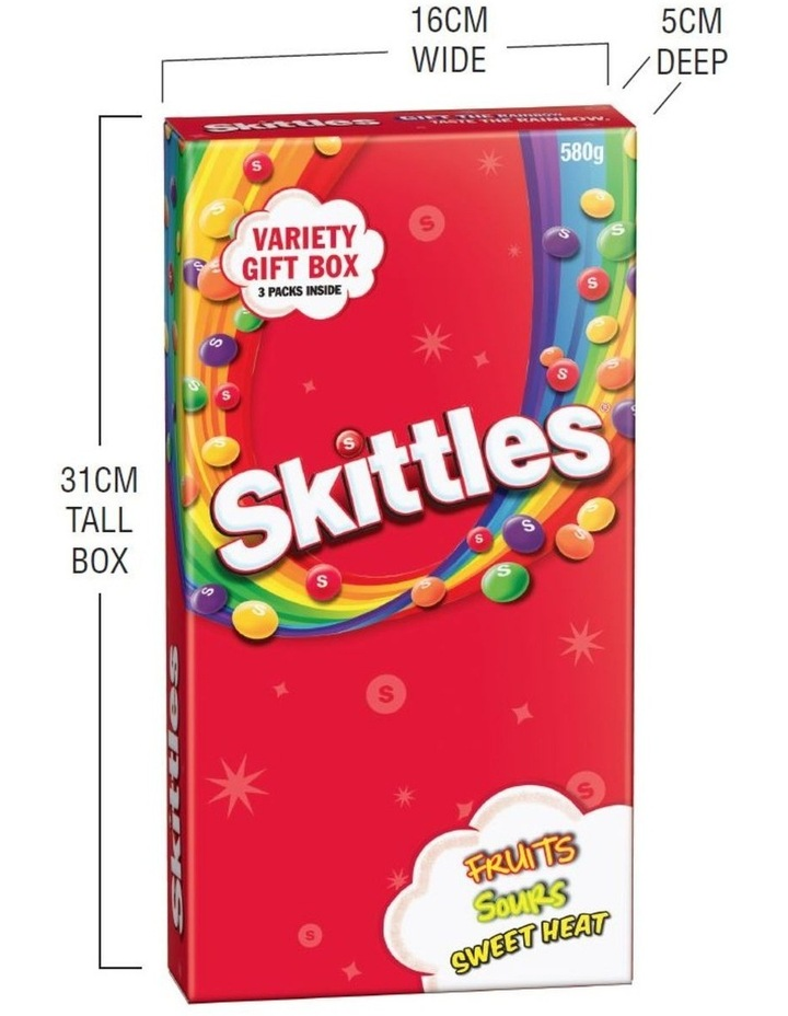 Giant Candy Box - Assorted Skittles 580G image 4