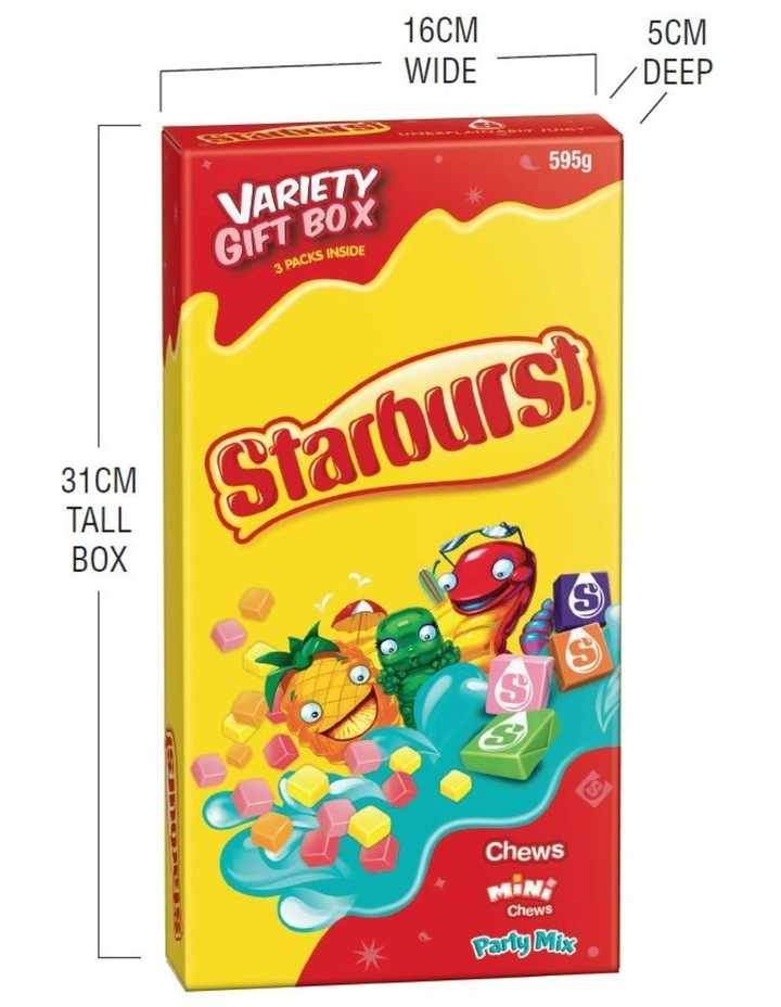 Giant Candy Box - Assorted Starburst 595G image 4