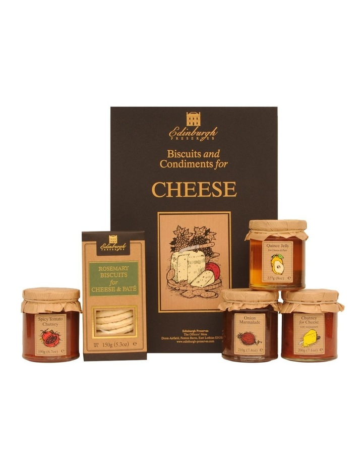 Biscuits and Condiments for Cheese Box 977g image 1