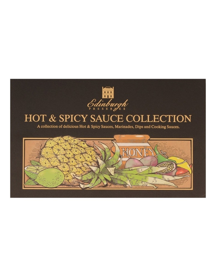 Hot & Spicy Sauce Collection Box 354g image 2
