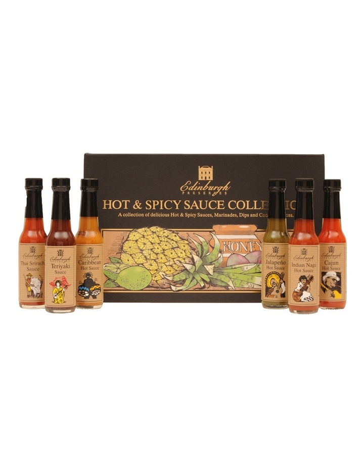Hot & Spicy Sauce Collection Box 354g image 6