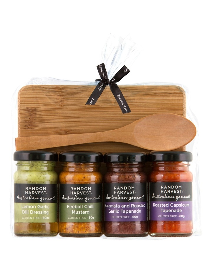Mini Entertaining Condiments with Cheese Board Pack 240g image 2