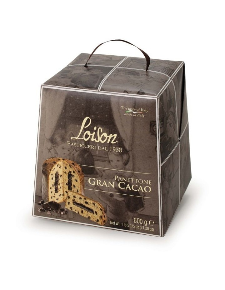 Loison Grand cacao panettone in box 600g image 1