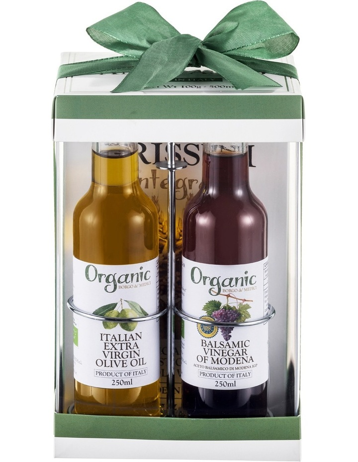 Organic Set with Evoo/Balsamic 2 x 250mL & Grissini 100g image 1