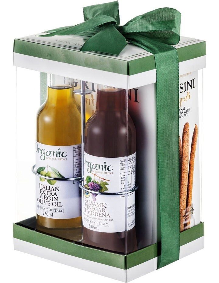 Organic Set with Evoo/Balsamic 2 x 250mL & Grissini 100g image 2