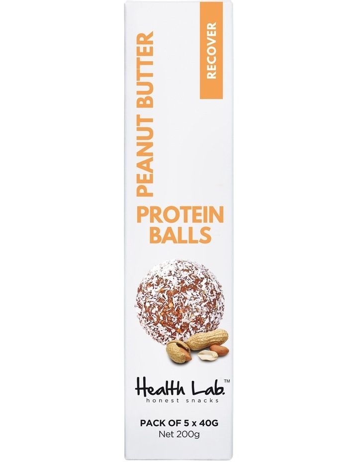 Recover Peanut Butter Protein Balls 200g 5pk image 1