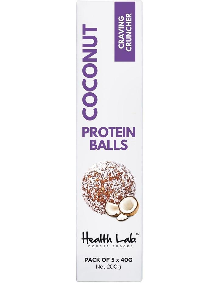 Craving Cruncher Coconut Protein Balls 200g 5pk image 1